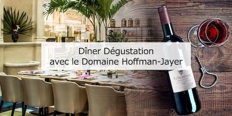 Diner Dégustation - Domaine Hoffmann-Jayer billets