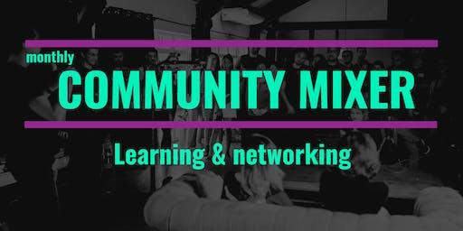 Monthly Community Mixer: Branding