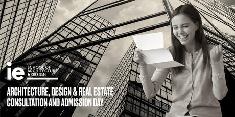 Architecture, Design & Real Estate Consultation and Admission Day tickets