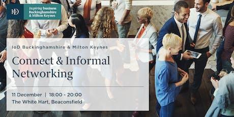 IoD Buckinghamshire & MK,  Connect – Informal Networking tickets