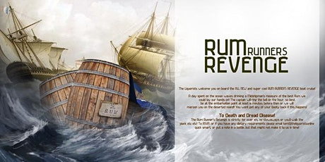 (29/50 Left) 'Rum Runners Revenge' Rum Cruise - 1pm (The Liquorists) tickets