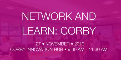Network & Learn Corby - GDPR tickets
