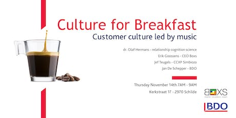 Culture for breakfast tickets