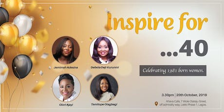 Inspire for ...40 tickets