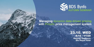 Dynamic Data-Driven Pricing Seminar with PriceFx