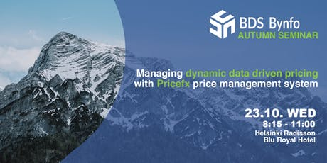 Dynamic Data-Driven Pricing Seminar with PriceFx tickets