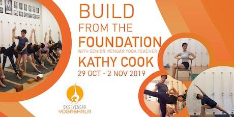 Build The Yoga Foundation with Senior Iyengar Yoga Teacher-Kathy Cook tickets