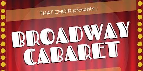 THAT CHOIR Broadway Cabaret tickets
