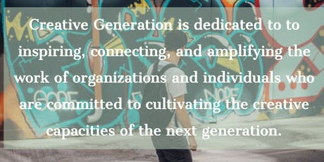 Creative Generation Townhall at AU tickets