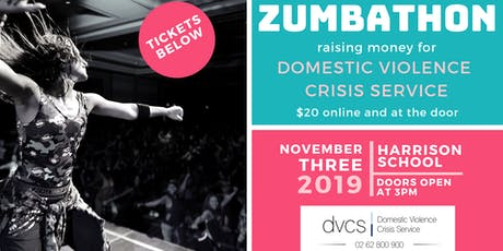 Zumbathon for DVCS tickets