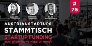 AustrianStartups Stammtisch #75: Startup Funding