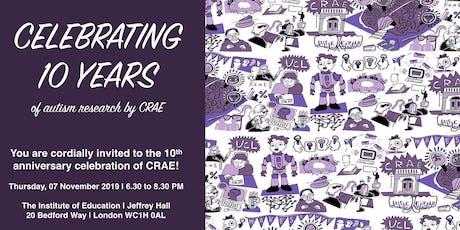 CRAE 10-Year Anniversary Celebration! tickets