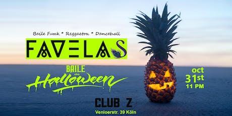 FAVELAS x Baile de Halloween Tickets