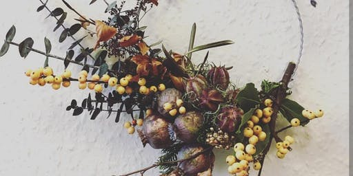Modern Winter Wreath Workshop