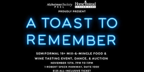 A Toast To Remember tickets