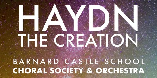Barney Choral Society and Orchestra perform Haydn's oratorio The Creation