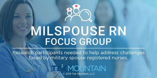 Milspouse RN Group Discussion