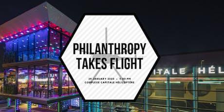 Philanthropy Takes Flight billets