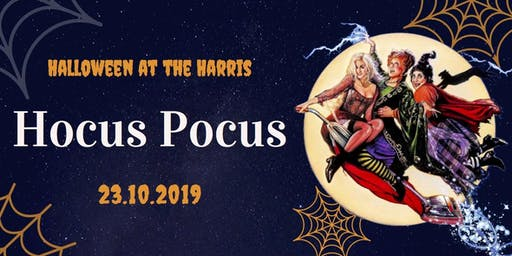 Halloween at the Harris: Hocus Pocus
