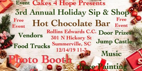 3rd Annual Holiday Sip & Shop tickets