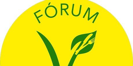 Fórum Vegegano : + Saudável  no Vegetarianismo com ingressos