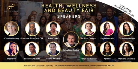 Free Photoshoot at the Health, Wellness and Beauty Fair tickets