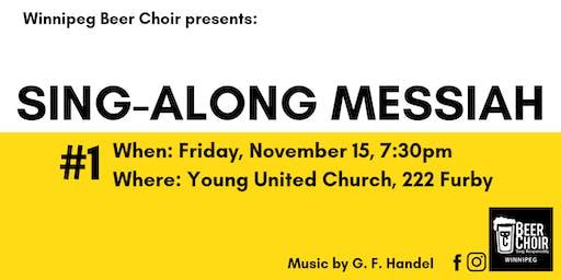 Winnipeg Beer Choir Sing-Along Messiah 1