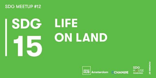 SDG Meetup #12   SDG 15