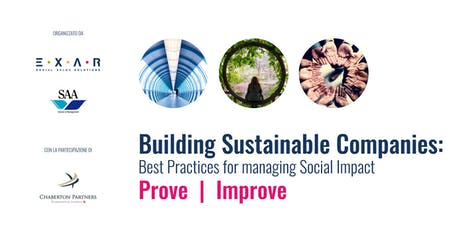 Building Sustainable Companies: Best Practices for Managing Social Impact biglietti