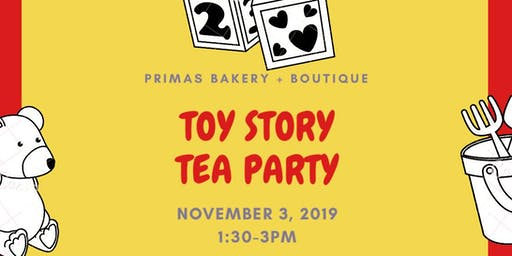 Toy Story Tea Party