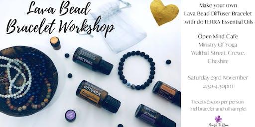 Lava Bead Bracelet Workshop