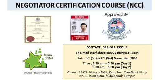 Negotiator Certification Course (NCC)