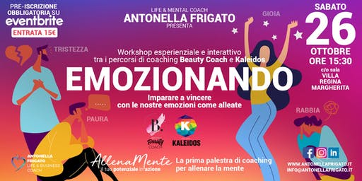 Emozionando - Workshop esperienziale tra Beauty Coach e Kaleidos