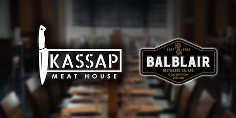 Whisky and Steak Tasting session at Kassap Meathouse Liverpool tickets