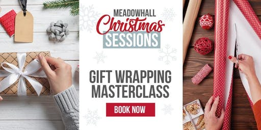The Gift Wrapping Sessions Meadowhall: Beautiful Boxes & Decorative Touches