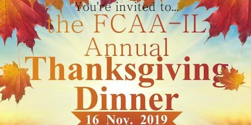 Central Thanksgiving Dinner