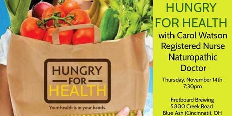 Hungry for Health tickets