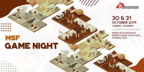 MSF GAME NIGHT [Session 1] tickets