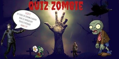 Quiz Zombie billets