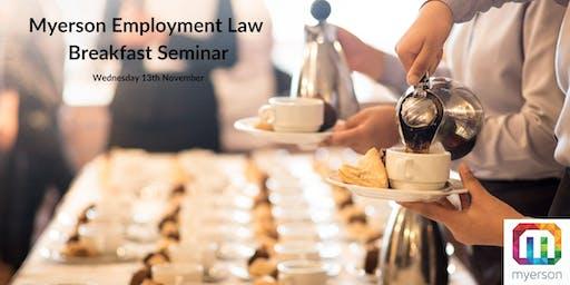 Myerson Employment Law Breakfast Seminar