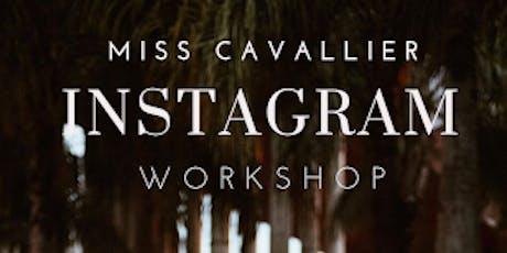 Miss Cavallier Instagram Workshop entradas