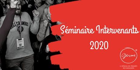 Séminaire Intervenants 2020 billets