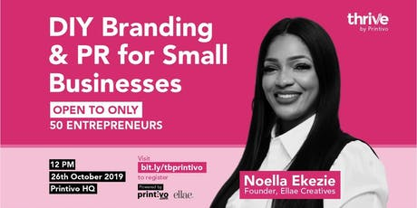 WORKSHOP: DIY Branding & PR For Small Business Entrepreneurs tickets