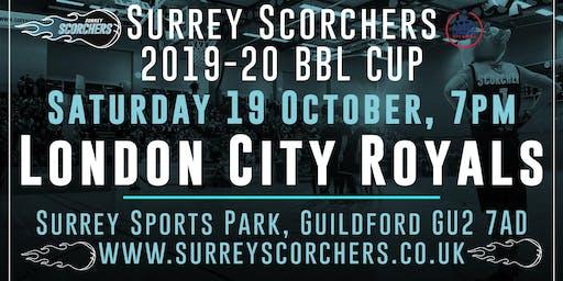 Surrey Scorchers v London City Royals - BBL Cup - Surrey Sports Park