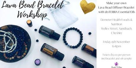 Lava Bead Bracelet Workshop tickets