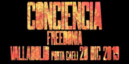 FREEDONIA GIRA CONCIENCIA -  SON ESTRELLA ESTRELLA - VALLADOLID