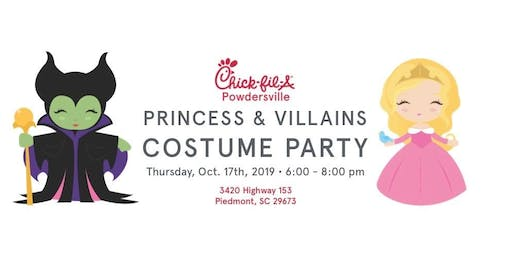 Princess & Villains Costume Party