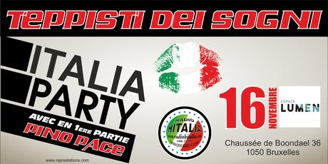 ITALIA PARTY tickets