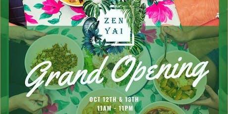 Sunday Zen Yai Grand Opening tickets
