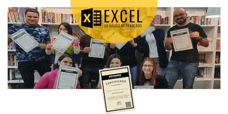 Curso Intensivo de Excel: do básico ao avançado ingressos